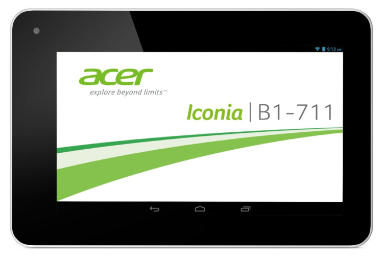 Acer Iconia B1-711 rot