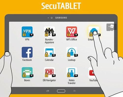SecuTABLET: Sicheres Tablet von Blackberry vorgestellt