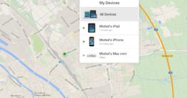 Tablet orten über iCloud