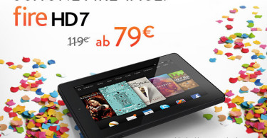 40 € Rabatt auf das Kindle Fire HD 7
