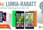 40 € Rabatt auf Nokia Lumia 735, 830 und 930