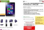 Lenovo Miix 3-830 32 GB mit Windows 8.1 für nur 111 €