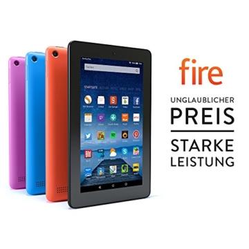 Fire, 17,7 cm (7 Zoll) Display, WLAN, 8 GB (Schwarz) - mit Spezialangeboten - 2