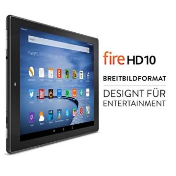 Fire HD 10, 25,65 cm (10,1 Zoll), HD-Display, WLAN, 16 GB (Schwarz) - mit Spezialangeboten - 2
