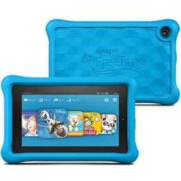 Fire Kids Edition, 17,8 cm (7 Zoll) Display, WLAN, 16 GB, Blau Kindgerechte Schutzhülle - 1
