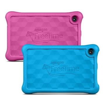 Fire Kids Edition, 17,8 cm (7 Zoll) Display, WLAN, 16 GB, Blau Kindgerechte Schutzhülle - 3