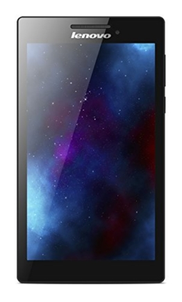 Lenovo Tab 2 A7-10 17,8 cm (7 Zoll IPS) Tablet (ARM MTK 8121 Quad-Core Prozessor, 1,3GHz, 1GB RAM, 8GB eMMC, GPS, Touchscreen, Dolby Sound, Android 4.4) schwarz - 1