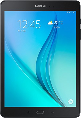 Samsung Galaxy Tab A T550N 24,6 cm (9,7 Zoll) WiFi Tablet-PC (Quad-Core, 1,2 GHz, 16 GB, Android 5.0) schwarz - 1