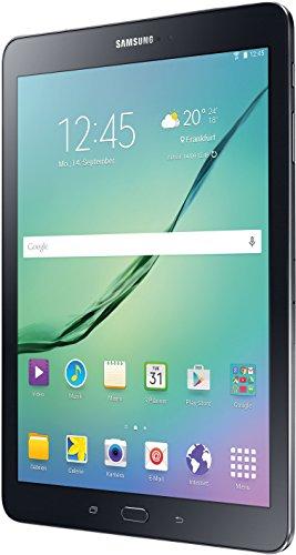 Samsung Galaxy Tab S2 T810N 24,6 cm (9,7 Zoll) Tablet-PC WiFi (2 Quad-Core Prozessoren, 1,9GHz + 1,3GHz, 3GB RAM, 32GB, Android 5.0) schwarz - 2