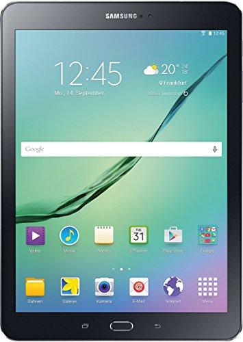 Samsung Galaxy Tab S2 T810N 24,6 cm (9,7 Zoll) Tablet-PC WiFi (2 Quad-Core Prozessoren, 1,9GHz + 1,3GHz, 3GB RAM, 32GB, Android 5.0) schwarz - 1