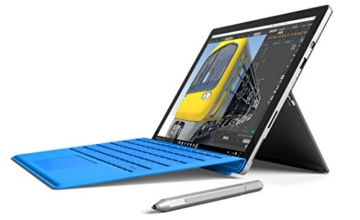 Microsoft Surface Pro 4 31,24 cm (12,3 Zoll) Tablet-PC (Intel Core m3, 4GB RAM, 128 GB, Intel HD Graphics, Windows 10 Pro) -